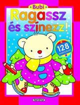 Bubi - Ragassz és színezz! - Piros - Ekönyv - NAPRAFORGÓ KÖNYVKIADÓ