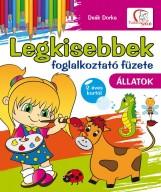 LEGKISEBBEK FOGLALKOZTATÓ FÜZETE - ÁLLATOK - Ekönyv - DEÁK DORKA