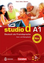 STUDIO D A1 NEU - DEUTSCH ALS FREMDSPRACHE KURS-UND ÜBUNGSBUCH + CD - Ekönyv - MX-157