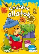 KEDVENC ÁLLATOK - BŰVÖS KIFESTŐ 2. RÉSZ - Ekönyv - SZILVÁSY ANDRÁS