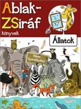 ABLAK-ZSIRÁF KÖNYVEK - ÁLLATOK - Ekönyv - MÓRA KÖNYVKIADÓ