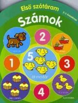 SZÁMOK - ELSŐ SZÓTÁRAM 2-3 ÉVESEKNEK - Ekönyv - ALEXANDRA KIADÓ