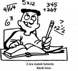 2 óra matek minden héten - Ekönyv - Bárdi Imre
