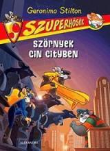 SZÖRNYEK CIN CITYBEN - SZUPERHŐSÖK 2. - Ekönyv - STILTON, GERONIMO