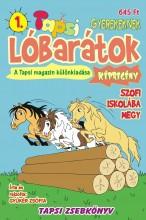LÓBARÁTOK - SZOFI ISKOLÁBA MEGY - TAPSI ZSEBKÖNYV 1. - Ekönyv - GYÜKÉR ZSÓFIA