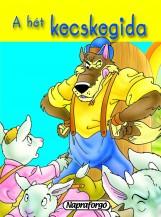 Minikönyvek - A hét kecskegida - Ekönyv - NAPRAFORGÓ KÖNYVKIADÓ