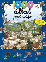 1000 ÁLLAT MATRICÁJA - KÉK - Ekönyv - NAPRAFORGÓ KÖNYVKIADÓ