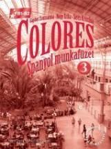COLORES 3. - SPANYOL MUNKAFÜZET - CD-VEL - Ekönyv - 56498/M