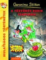 A TŰZVÖRÖS RUBIN TEMPLOMA - Ekönyv - STILTON, GERONIMO