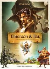 EMERSON & TSA. - AVAGY A TITOKZATOS MORDIAI BŰNESET - Ekönyv - LEZSÁK LEVENTE