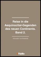 Reise in die Aequinoctial-Gegenden des neuen Continents. Band 2.  - Ekönyv - Alexander von Humboldt