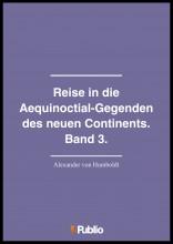 Reise in die Aequinoctial-Gegenden des neuen Continents. Band 3. - Ekönyv - Alexander von Humboldt