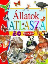Állatok atlasza 80 matricával - Ekönyv - NAPRAFORGÓ KÖNYVKIADÓ