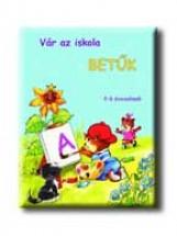 VÁR AZ ISKOLA - BETŰK - 5-7 ÉVESEKNEK (4-6 ÉVESEKNEK) - Ekönyv - PRO JUNIOR