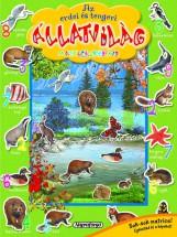 Az erdei és tengeri állatvilág matricáskönyve -Színpompás állatvilág - Ebook - NAPRAFORGÓ KÖNYVKIADÓ