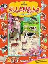 A mezei állatvilág matricáskönyve - Színpompás állatvilág - Ekönyv - NAPRAFORGÓ KÖNYVKIADÓ