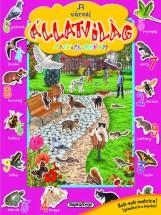 A városi állatvilág matricáskönyve -  Színpompás állatvilág - Ekönyv - NAPRAFORGÓ KÖNYVKIADÓ
