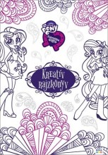 KREATÍV RAJZKÖNYV - MY LITTLE PONY EQUESTRIA GIRLS - Ekönyv - MÓRA KÖNYVKIADÓ
