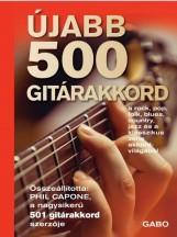 ÚJABB 500 GITÁRAKKORD - Ekönyv - GABO / TALENTUM