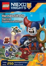 HARCKÉSZÜLTSÉG - MATRICÁS FOGLALKOZTATÓKÖNYV - LEGO NEXO KNIGHTS - Ekönyv - MÓRA KÖNYVKIADÓ