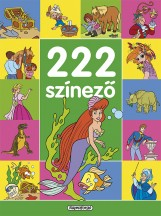 222 színező - Zöld - Ekönyv - NAPRAFORGÓ KÖNYVKIADÓ