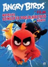 ANGRY BIRDS A FILM - MATRICÁS SZÍNEZŐ ÉS FOGLALKOZTATÓ KÖNYV - Ekönyv - JCS MÉDIA KFT