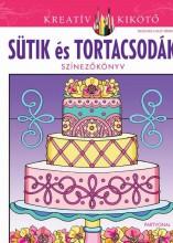 SÜTIK ÉS TORTACSODÁK - SZÍNEZŐKÖNYV - Ekönyv - PARTVONAL KIADÓ