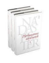 PÁRHUZAMOS TÖRTÉNETEK I-III. (FEHÉR) - Ekönyv - NÁDAS PÉTER