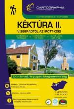 KÉKTÚRA II. - VISEGRÁDTÓL AZ ÍROTT-KŐIG - TURISTAKALAUZ - Ekönyv - CARTOGRAPHIA KFT.