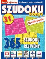 ZSEBREJTVÉNY SZUDOKU KÖNYV 31. - Ekönyv - CSOSCH BT.