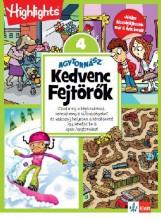 AGYTORNÁSZ - KEDVENC FEJTÖRŐK 4. - Ekönyv - KLETT KIADÓ