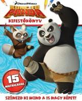 Kung Fu Panda - kifestőkönyv matricákkal - Ekönyv - NAPRAFORGÓ KÖNYVKIADÓ