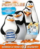 Madagaszkár pingvinjei - kifestőfüzet matricákkal - Ekönyv - NAPRAFORGÓ KÖNYVKIADÓ