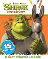 Shrek - kifestőfüzet matricákkal - Ekönyv - NAPRAFORGÓ KÖNYVKIADÓ