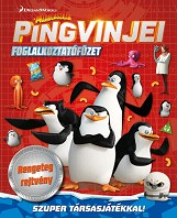 Madagaszkár pingvinjei - foglalkoztatófüzet - Ekönyv - NAPRAFORGÓ KÖNYVKIADÓ
