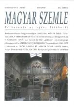 MAGYAR SZEMLE - 2016. ÁPRILIS - Ekönyv - MAGYAR SZEMLE