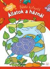 ÁLLATOK A HÁZNÁL -  BŰVÖS KIFESTŐ - Ekönyv - AKSJOMAT KIADÓ KFT.