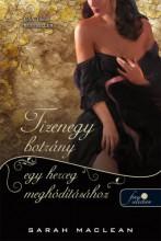 TIZENEGY BOTRÁNY EGY HERCEG MEGHÓDÍTÁSÁHOZ - Ekönyv - MACLEAN, SARAH