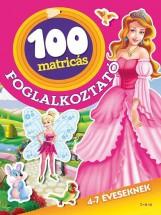 100 MATRICÁS FOGLALKOZTATÓ - TÜNDÉREK ÉS HERCEGNŐK - Ekönyv - TÓTH KÖNYVKERESKEDÉS ÉS KIADÓ KFT.