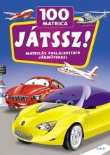 JÁTSSZ! - MATRICÁS FOGLALKOZTATÓ JÁRMŰVEKKEL - 100 MATRICA - Ekönyv - TÓTH KÖNYVKERESKEDÉS ÉS KIADÓ KFT.