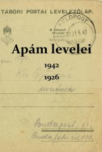 APÁM LEVELEI 1942, 1926 - Ekönyv - SZAK KIADÓ KFT.