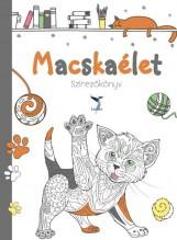 MACSKAÉLET - SZÍNEZŐKÖNYV - Ekönyv - LEVITER KIADÓ