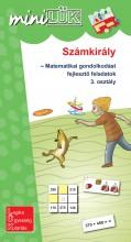 SZÁMKIRÁLY - MATEMATIKAI GONDOLKODÁST FEJLESZTŐ FELADATOK 3. OSZTÁLY - MINILÜK - Ekönyv - LDI534