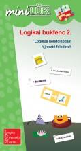 LOGIKAI BUKFENC 2. - LOGIKAI GONDOLKODÁST FEJLESZTŐ FELADATOK - Ekönyv - LDI539