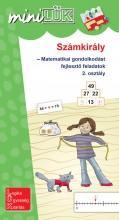 SZÁMKIRÁLY - MATEMATIKAI GONDOLKODÁST FEJLESZTŐ FELADATOK  2. OSZTÁLY - MINILÜK - Ekönyv - LDI532