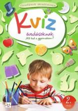 KVÍZ ÓVODÁSOKNAK 2. RÉSZ - Ekönyv - AKSJOMAT KIADÓ KFT.