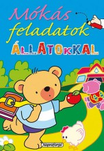 Mókás feladatok - Állatokkal - Ekönyv - NAPRAFORGÓ KÖNYVKIADÓ