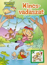 KINCSVADÁSZAT - LIZÁVAL A KALANDORRAL + AJÁNDÉK MINI KIRAKÓ (PD-C33) - Ekönyv - PEDELLUS TANKÖNYVKIADÓ KFT.