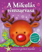 Karácsonyi foglalkoztatófüzet - A Mikulás rénszarvasa - Ekönyv - NAPRAFORGÓ KÖNYVKIADÓ