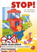 STOP! - MESÉK-VERSEK-JÁTÉKOK - KIFESTŐ-FOGLALKOZTATÓ - Ekönyv - ILLÉS ADRIENN, OCSENÁS GÁBOR